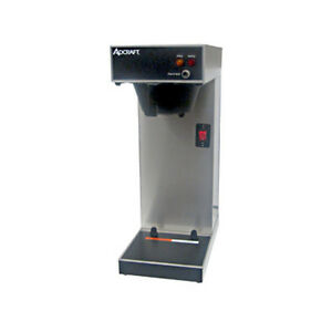 Adcraft Ub 289 3 8 Gallon Per Hour Single Thermal Server Coffee Brewer