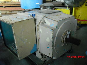 500 Hp Dc Reliance Electric Motor 850 Rpm B687atz Frame Dpfv 500 V