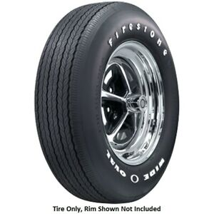 Firestone Wide Oval Radial Fr70r15 Rwl quantity Of 2