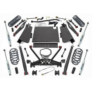 2003 2006 Jeep Wrangler Tj Pro Comp 4 Long Arm Lift Kit K3092bp W 100 Rebate