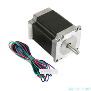 Schrittmotor Stepper Motor Nema 23 1 8 4 wires 76mm 3a 270oz in1 8nm Bipolar Rl8