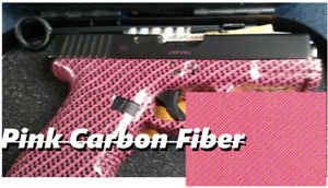 Light Dip Hydrographic Water Transfer Printing Pink Carbon Fiber Film 0 5 10m