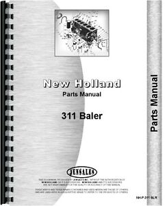 New Holland 311 Baler Parts Manual Nh p 311 Blr