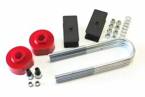 Ford Bronco Ii 1984 1990 Lift Kit Front 2 Spacers Rear 2 5 Steel Blocks 2wd R