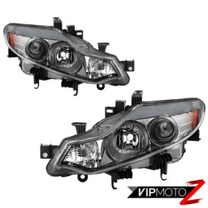 factory Style For 2009 2014 Nissan Murano Headlight Assembly Replacement Pair
