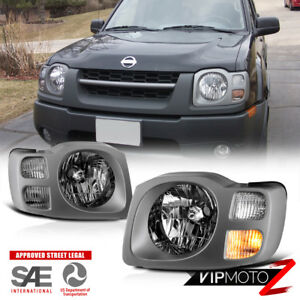 Chrome factory Style Headlight Lamps Replacement For 2002 2004 Nissan Xterra