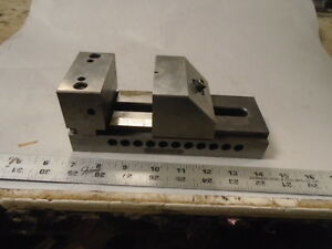 Machinist Tool Lathe Mill Tool Makers Ground 3 Grinding Precision Vise Milling