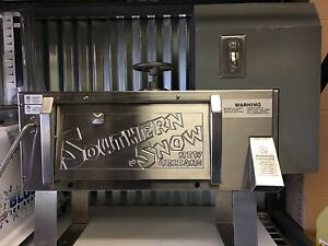 Southern Snow Shaved Block Ice Machine Snoball Maker 120 Volt 3 4 Hp Motor