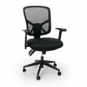 Ofm Essentials Ergonomic High Back Mesh Office Chair In Black