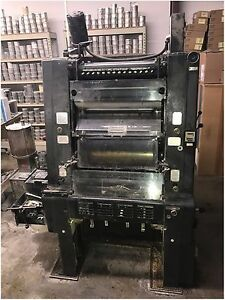 Heidelberg Gto One Color Offset Printing Press Plus Version S n 663802