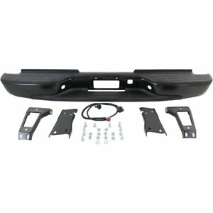 Step Bumper Assembly For 2001 2006 Gmc Sierra 2500 Hd Fleetside Pwd ctd Black