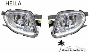 Mercedes W211 E320 E500 Pair Set Of Front Left And Right Fog Lights Oem Hella