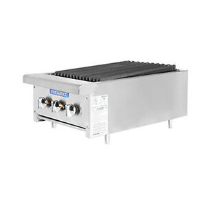 Turbo Air Tarb 18 Radiance 18 Countertop Gas Charbroiler 3 Burners