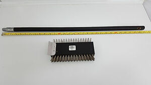 Acs Scrubble B802s Deluxe Broiler Oven Stainless Steel Wire Brush Scraper Grill