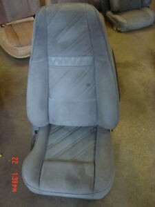 Jeep Wrangler Grey Passengers Side Front Seat 91 95 Cloth Yj Reclining