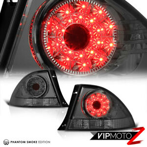 Dark Smoke Jdm Altezza Smd Led Rear Tail Light Lamp Pair Fit 2001 05 Lexus Is300
