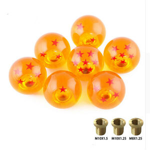 Universal Auto Shift Knob Rare Z Dragon Ball 54mm Diameter Gear Shift Knob Stars