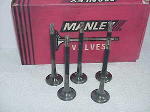 5 Titanium 11 32 Manley Exhaust Valves 5 670 1 615 295 Bead 80 Grams