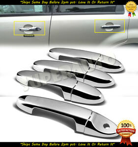 For 2001 2012 Ford Escape Chrome Door Handle Covers 02 03 04 05 06 07 08 09 10