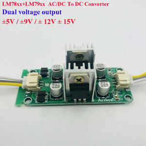 Ac dc To 5v 12v 15v Dual Channel Voltage Converter Rectifier Power Supply Module