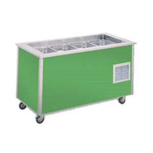 Vollrath 36146 46 Signature Server Cold Food Station W Stainless Steel Counter