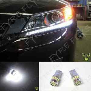 6000k Led Light Headlight Strip Bulbs 2013 Fit Honda Accord 4dr Sedan 2dr Coupe