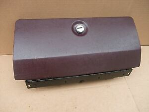 1985 1986 1987 Cutlass Regal Monte Carlo Dash Glove Box Door Plus Burgundy Oem