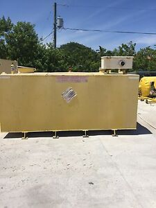 2000 Gallon Diesel Tank Hoover Containment System Secondary Containment Above Gr