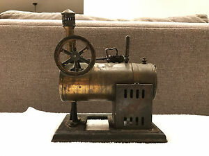 antique Shoenner 141f Toy Steam Engine Rare Only One On Ebay
