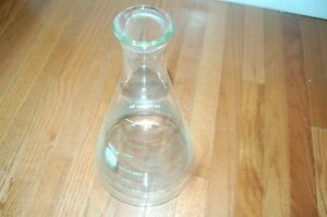 Pyrex Glass Culture Flask Tray 4 Liters 4l Large 4000 Ml Cell Erlenmeyer 4980