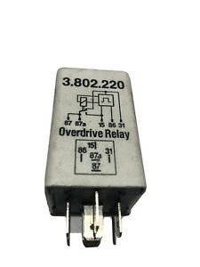 Overdrive Relay 3523804 K a e For Volvo 240