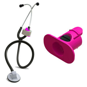 S3 Stethoscope Tape Holder hot Pink Littmann Adc Nursing Nurses Gift Ems Emt