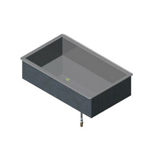 Vollrath 36451 3 pan Modular Drop In Cold Food Well