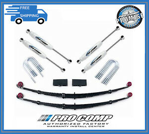Pro Comp Suspension K5059b 4 Lift Stage I W Rr Blocks For 1990 1996 Ford F150