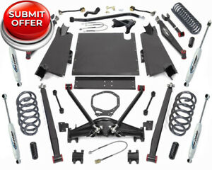 Procomp K3092bp 4 Long Arm Lift Kit W Pro Runner Shocks 03 06 Jeep Tj Wrangler