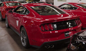 2015 2018 Mustang Coupe Fastback Roush Rear Spoiler Wing Ruby Red Rr 412890