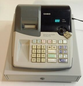 Casio Electronic Cash Register Pcr 275 With Key