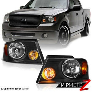 2004 2008 Ford F150 factory Style Back Headlights Headlamps Pair Left right