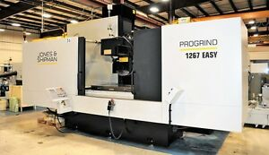 Jones Shipman Progrind 1267 Easy Cnc Surface Grinder 27901