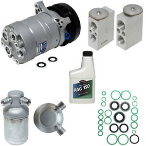 New A C Compressor Kit With Clutch Ac For 1995 Camaro Firebird 5 7l V8 Only