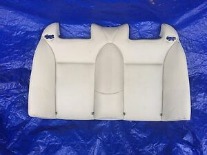 04 07 Saab 9 3 93 Convertible Seat Leather Upper Rear 120815