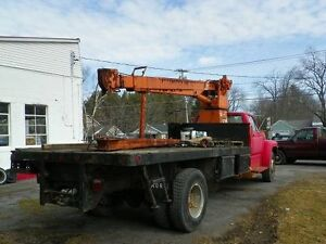 Pitman Crane Truck Mount With Jib
