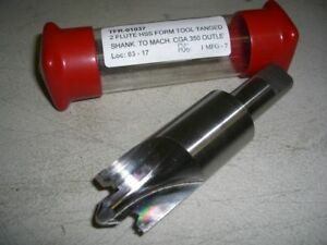 New 1 1 4 Hss Outlet Spot Face Spotface Chamfer Cutter Forming Form Tool Tanged