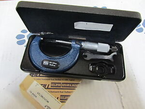 M w Moore And Wright 966m 50 Outside Micrometer 25 50mm Metric 0 01mm England