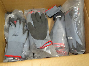 24 pr Horizon 051140s Small Pvc foam Dipped Coated Gray Safety Protective Gloves