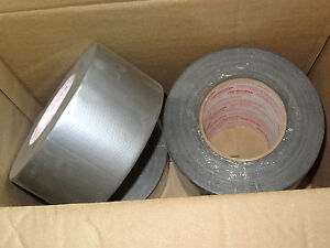 7 Rolls Cantech 72mm X 55m General Purpose Waterproof Cloth Duct Tape Silver Usa