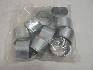 Lot Of 10 New Parker Crimp Shell Sleeve 2 Inch Od X 1 3 8 Inch Tall