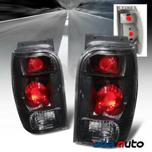 1998 2001 Ford Explorer Mercury Mountaineer Altezza Black Tail Lights Set