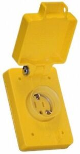 Woodhead Watertite Wet Location Straight Blade Receptacle Nema 6 20 60w48