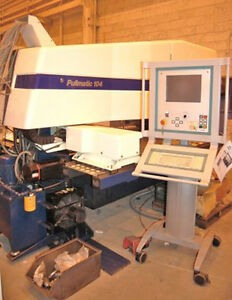 Turret Punch Press Pullmax Pullmatic 104 27 Ton Cnc 16343